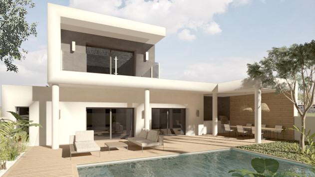 Visualisation 3D d'une maison individuelle pour un promoteur