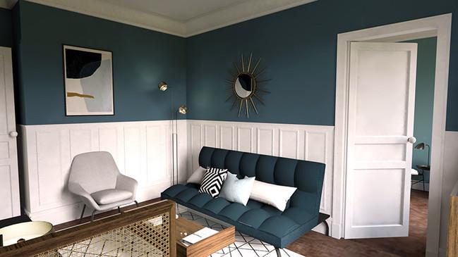 Appartement Paris VII, Design Elémentaire
