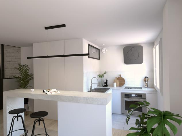 Valorisation Immo 3D d'un appartement, Montpellier