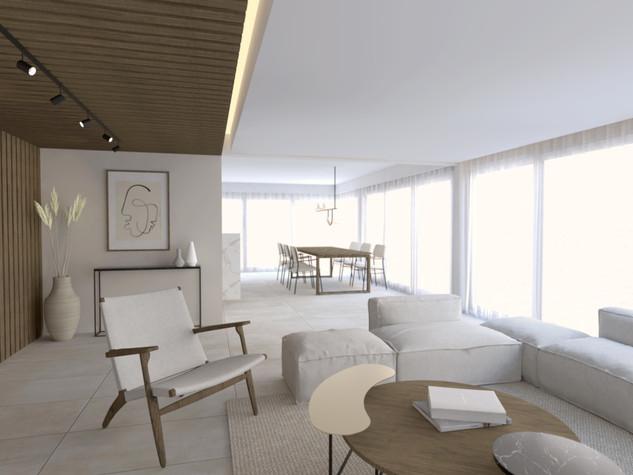 Stylisme et visualisation 3D d'une résidence, Sète
