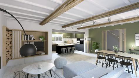 Maison à Nîmes, Design Elémentaire_MaisonBachevalier_Vue1-Correc