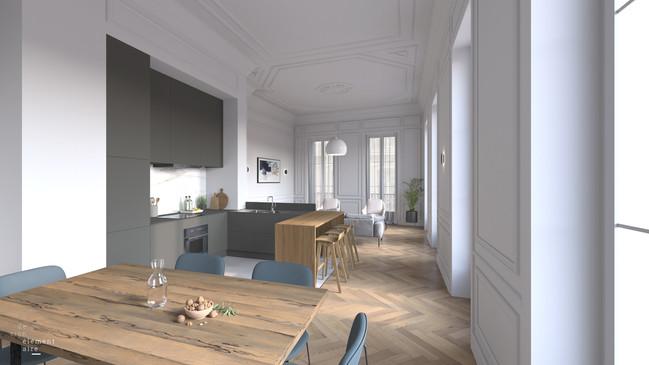 44 La Canebière - Visualisation 3D