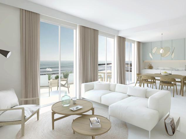 Visualisation 3D d'un appartement, Palavas