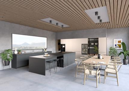 Visualisation 3D d'une cuisine Bulthaup