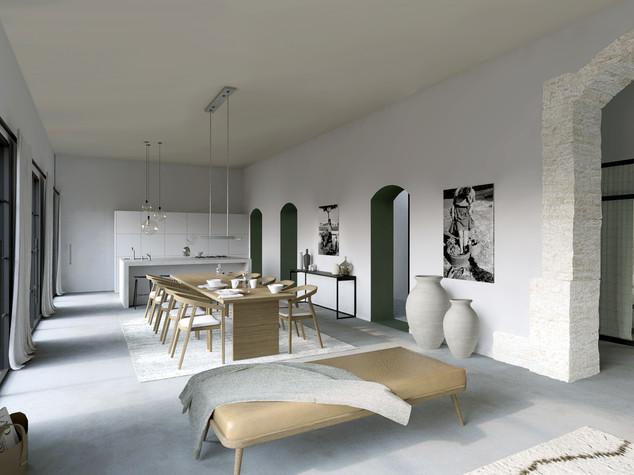 Visualisation 3D de chambres d'hôtes, Aude