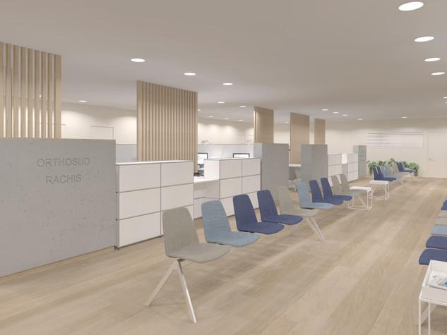 Visualisation 3D du Pôle OrthoSud de la Clinique Saint-Jean