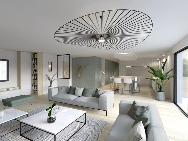 Valorisation Immo 3D d'une villa, St Jean de Védas