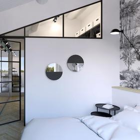 Visualisation 3D chambre, Design Elémentaire