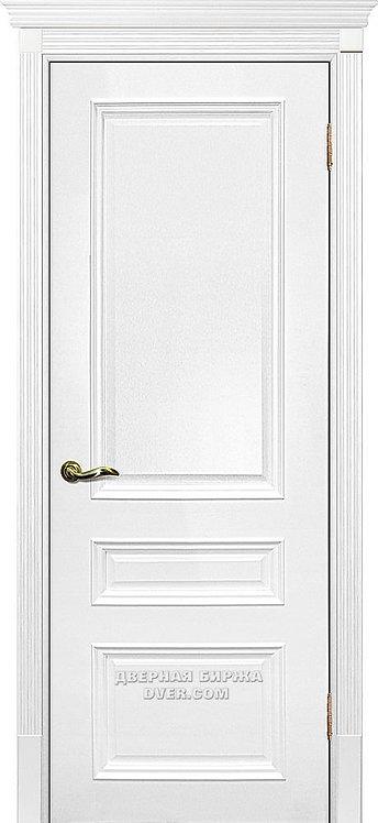 Дверь Смальта 06 Молочный ral 9010