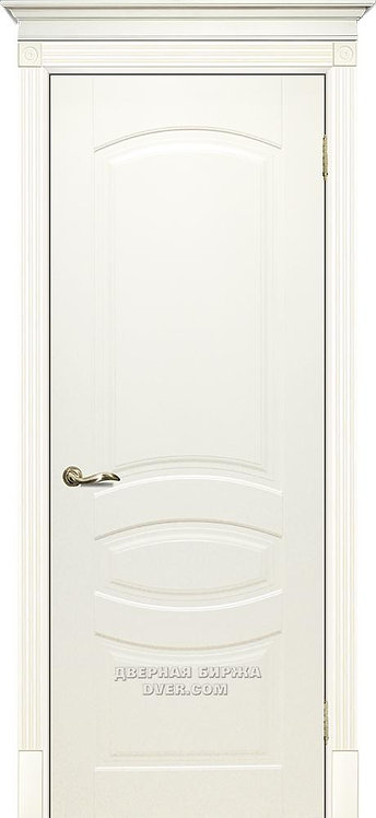Дверь Смальта 02 Слоновая кость ral 1013