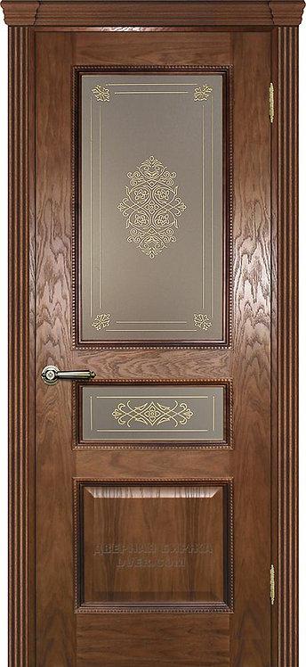 Дверь Фрейм 03 Дуб со стеклом