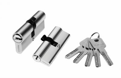 Цилиндр алюминий 80мм , 5 ключей