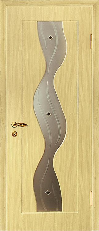 Дверь Вираж Беленый дуб (Береза)