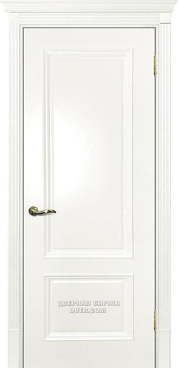 Дверь Смальта 07 Молочный ral 9010