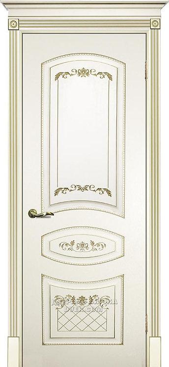 Дверь Смальта 05 Слоновая кость ral 1013
