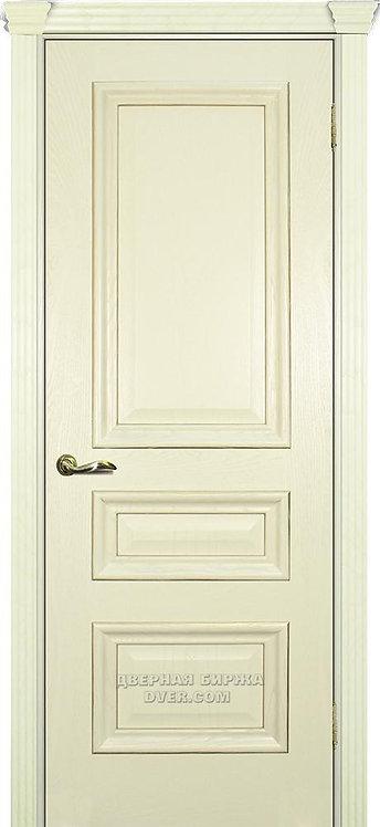 Дверь Фрейм 05 Ясень Слоновая кость