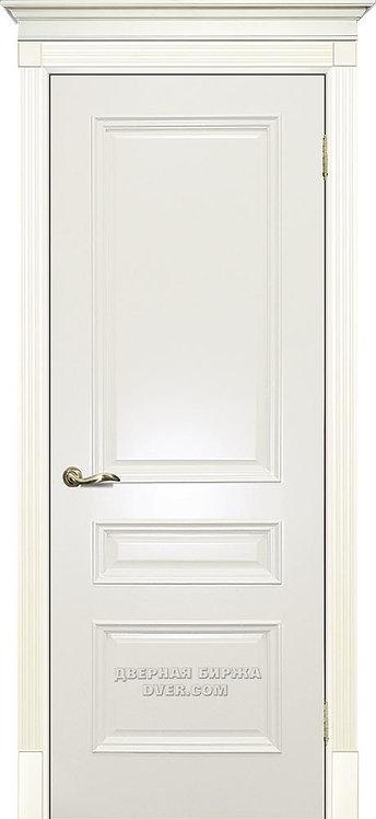 Дверь Смальта 06 Слоновая кость ral 1013