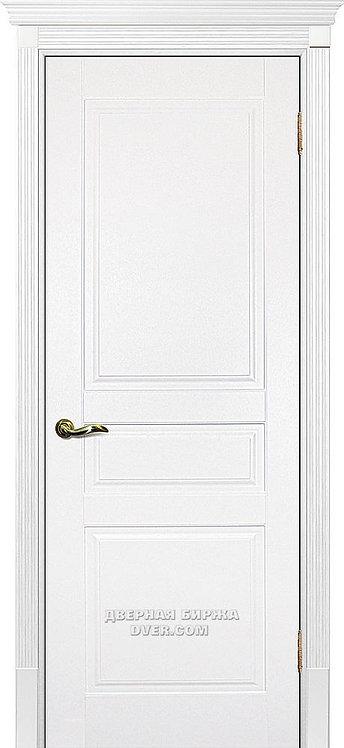 Дверь Смальта 01 Молочный ral 9010