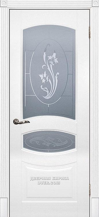 Дверь Смальта 02 Белый ral 9003