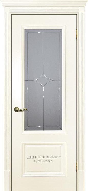 Дверь Смальта 07 Слоновая кость ral 1013