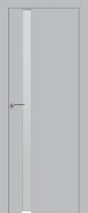 Дверь 36E Манхэттен, бесцветное матовое, кромка ABS