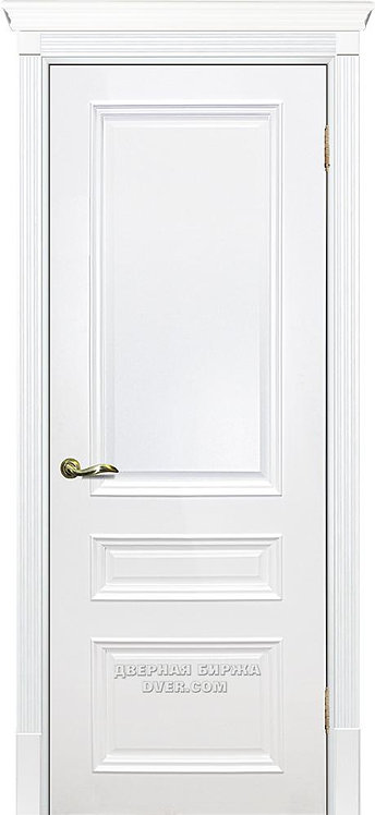 Дверь Смальта 06 Белый ral 9003