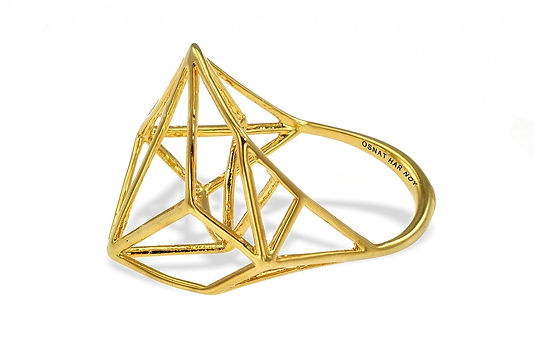 geometric ring, architecture, osnat har noy
