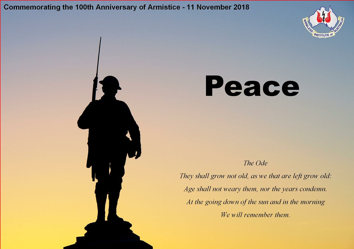 Vi2peace 100 Anniversary Armistice