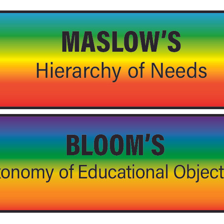 """Maslow before Bloom"""