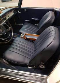 Mercedes Oldtimersitze in Leder