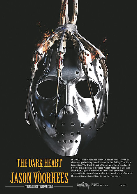 The Dark Heart Of Jason Voorhees Limited Artprint