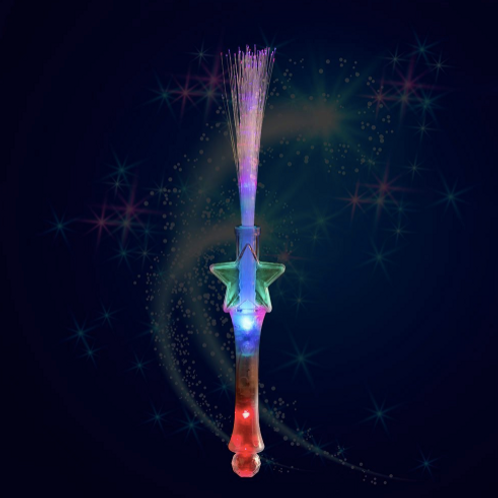 Fibre Optic Wand like we use in the classes when we go to the moon