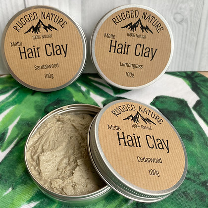 Natural Hair Clay - Rugged Nature