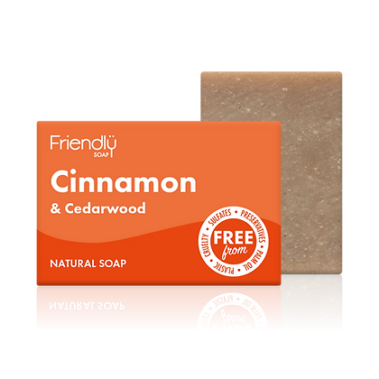 Cinnamon Cedarwood Natural Soap (Friendly Soaps)
