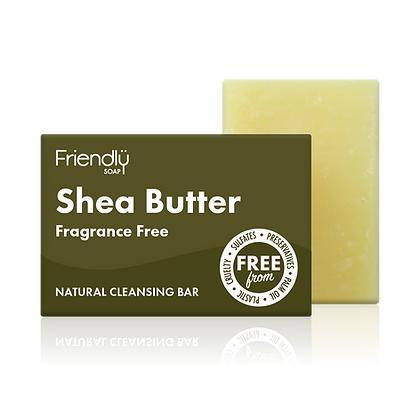 Shea Butter Natural Soap (Friendly Soaps)