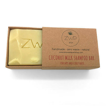 ZWP Coconut Milk Natural Shampoo Bar