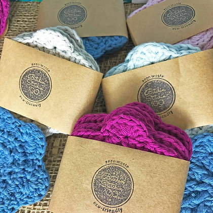 Crochet Reusable Face Wipes