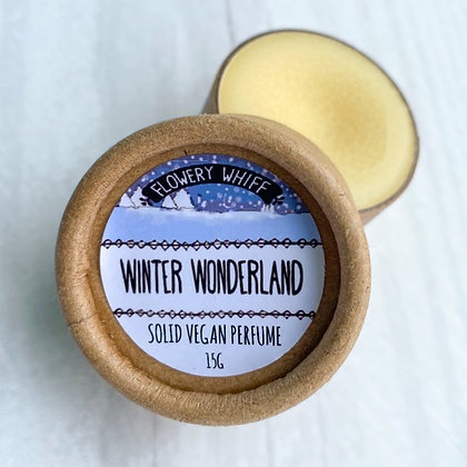 Solid Perfume (Winter Wonderland) - Vegan and Plastic-Free