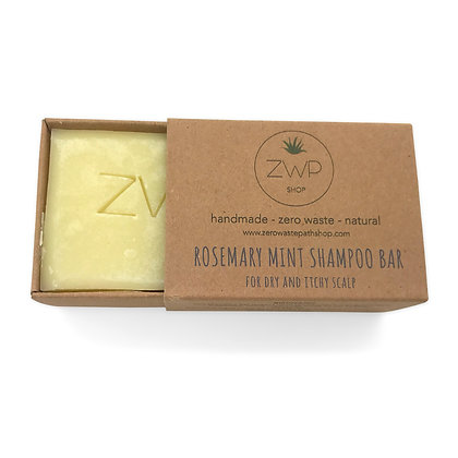 ZWP Rosemary Mint Natural Shampoo Bar