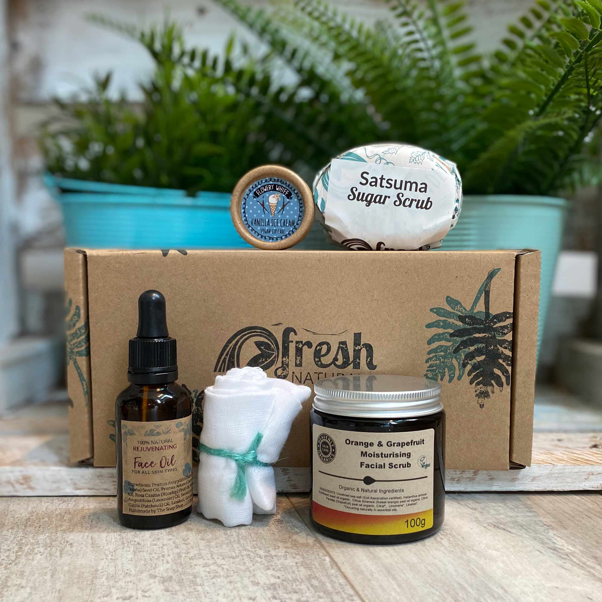 Organic Natural Skincare Gift Set Natural Skincare
