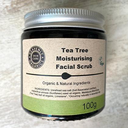 Tea Tree Moisturising Facial Scrub