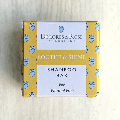Soothe and Shine Shampoo Bar - Dolores and Rose