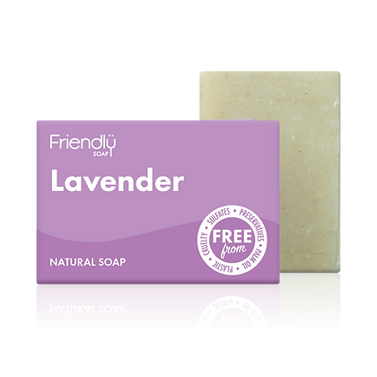 Lavender Natural Soap (Friendly Soaps)