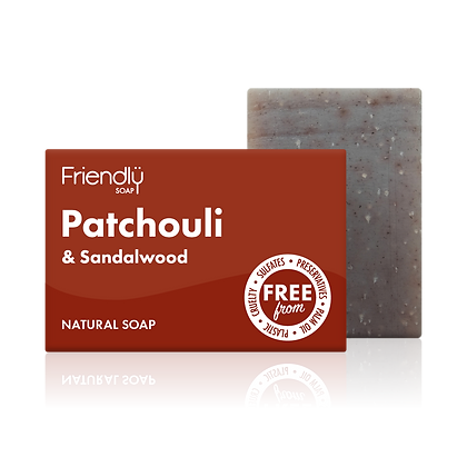 Patchouli Sandalwood Natural Soap (Friendly Soaps)