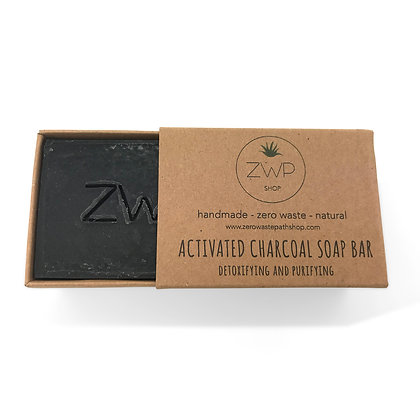 ZWP Activated Charcoal Natural Soap