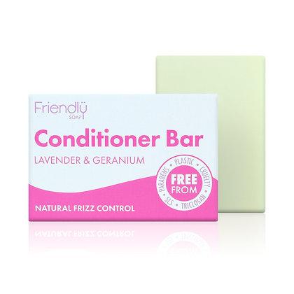 Natural Conditioner Bar Lavender Geranium (Friendly Soap)