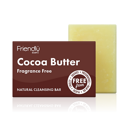 Cocoa Butter Natural Facial Soap (Friendly Soaps)