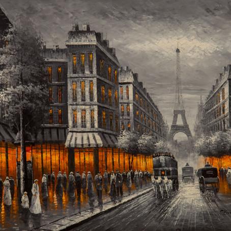 Lights in Paris