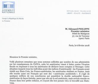 Le groupe la REM se mobilise contre les effets négatifs de l'extraterritorialité de la loi FATCA !