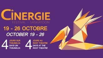 15e édition du Festival CINERGIE à Saskatoon (19-26 octobre)
